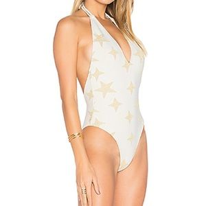 Sea You Later One Piece in White & Gold